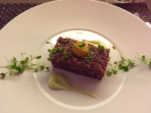 Beef tartare - Angels with Bagpipes