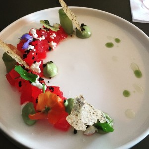 Watermelon tartare - Aizle