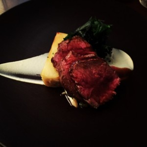 Roast rump of beef - Purslane