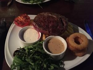 Steak - Malones Irish Bar