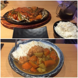 Salmon and chicken - Bentoya