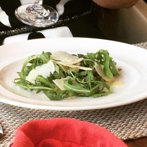 Rocket, parmesan & balsamic salad - One Square