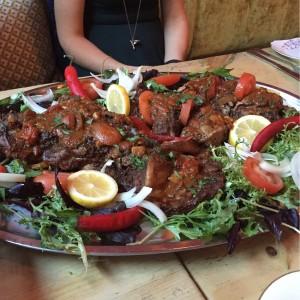 Bedouin feast - Maison Bleue