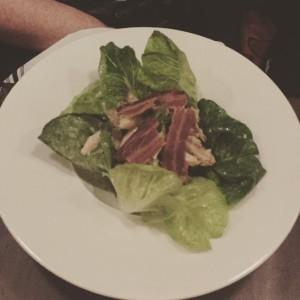 Chicken, bacon and avocado salad - Printing Press