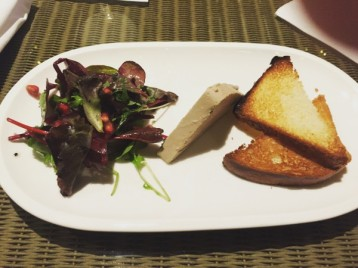 Chicken liver parfait- Copper Blossom