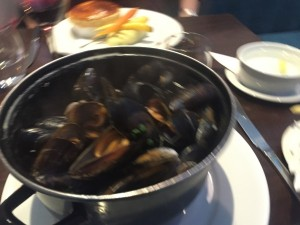 Mussels - Michael's Steak and Seafood Bar