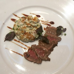 Venison carpaccio - Michael's Steak and Seafood Bar