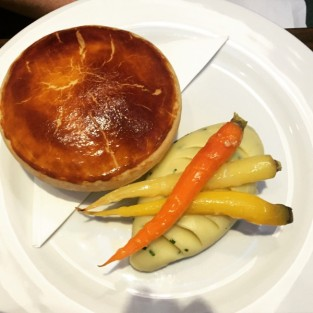 Beef and oyster pie - Michael's Steak and Seafood Bar