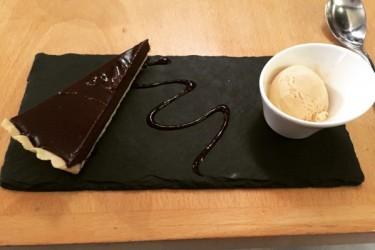 Bitter chocolate tart - Bistro Provence