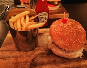 Chrysler Burger and Crispy Fries - TriBeCa
