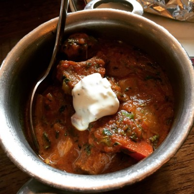 Lamb karahi - Mother India