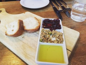 3 Bird Dukkah, Oil, Shallot Vinegar and Bread - Three Birds