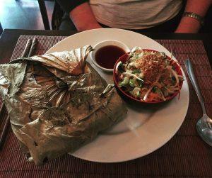 Chicken lotus rice - Vietnam House
