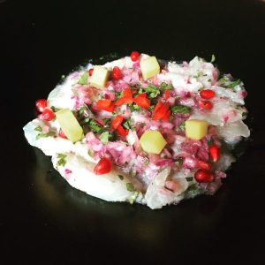 Ceviche of seabass - Tapa