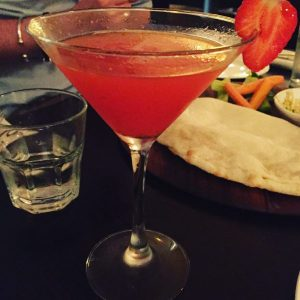 Strawberry and Vanilla Martini - Gusto