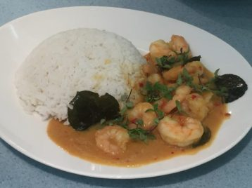 Prawn Panaeng - Edinburgh New Town Cookery School