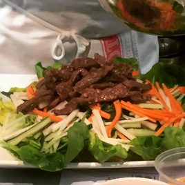 Vietnamese Beef Salad - Edinurgh New Town Cookery School
