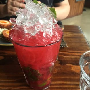 Raspberry gin mojito - Southpour