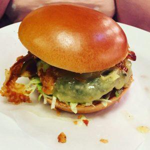 Smoky burger - Byron