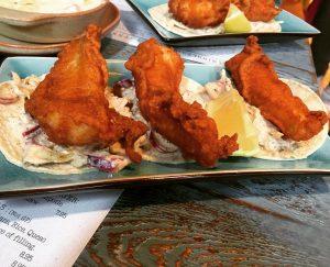 Crispy fried fish tacos - Topolabamba