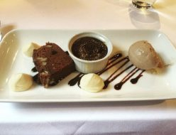 Chocolate Brulee - Stockbridge Restaurant