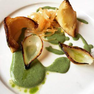 Good King Henry, Gooseberries, Swede, Onion and Pattypan - Edinburgh Food Studio