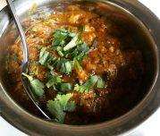 Green Bengal Masala Chicken - The Raj Restaurant