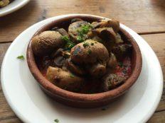 Mushrooms - Serrano Manchego