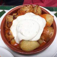 Patatas Bravas - Cafe Andaluz