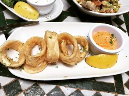 Calamari - Cafe Andaluz