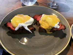 Eggs Benedict - Chop House