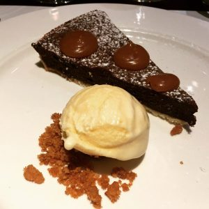 Chocolate Tart - Galvin Brasserie