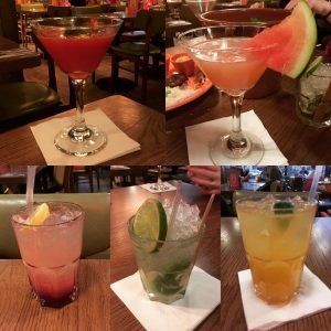 Cocktails - Las Iguanas