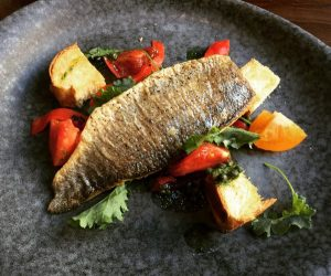 Sea Bass - Bistro Du Vin