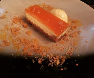 Passion fruit cheesecake - The Bonham