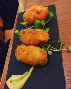 Chicken and Chorizo Croquettes - Badger and Co
