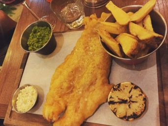 Haddock and Chips - Badger and Co