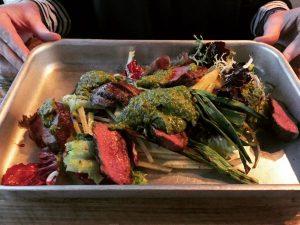 Flat Iron Steak Salad - Checkpoint