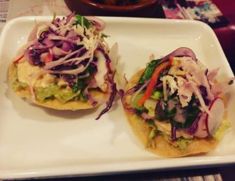 Smoky Chicken and Avocado Tostadas - Wahaca