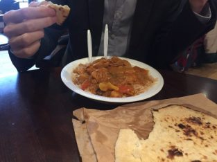 Chicken Jalfrezi - Aroma Cafe and Mosque Kitchen