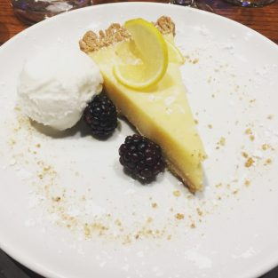 Lemon Panna Cotta Tart - Sylvesters