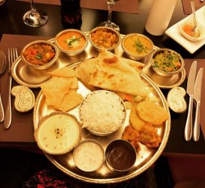 Vegetarian Thaali - Kalpna