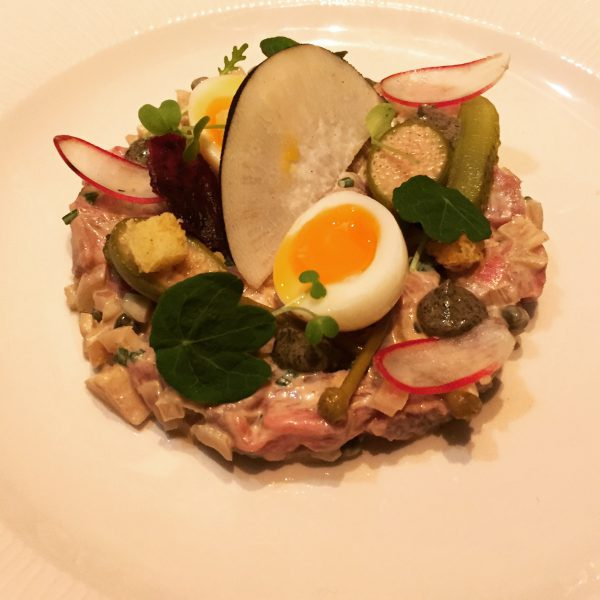 Skirt Steak Tartare - New Chapter