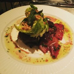 Warm Beetroot Salad - Cote