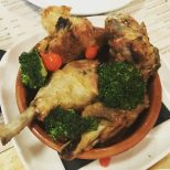 Frango a passarinho (deep fried chicken) - Boteco Do Brasil