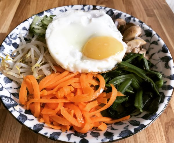 Six Vegetable Bibimbap - On Bap