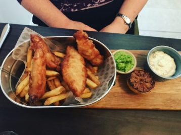 Fish and Chips - The Lantern Room