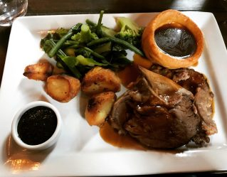 Roast Lamb - Caley Sample Room