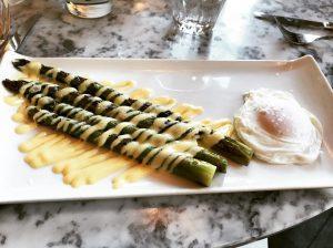 Asparagus and Poached Egg - Cadiz