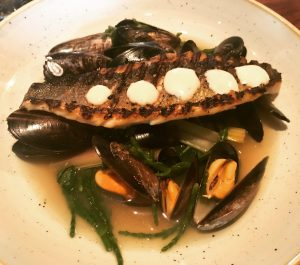 Pan Fried Sea Bass - The Voyage of Buck